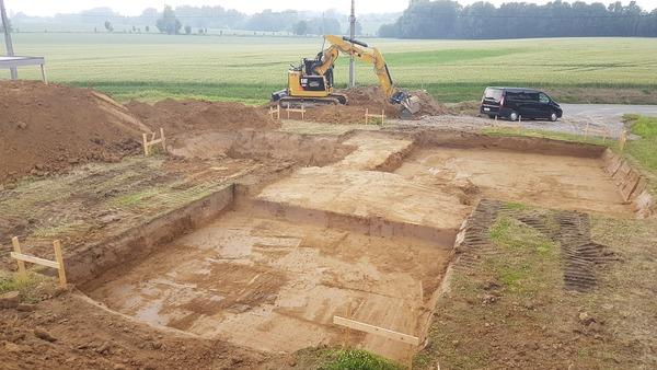 terrassement nouvelle construction
